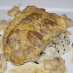 Koteleter med champignon